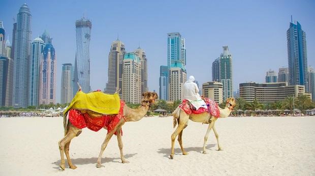 Dubai Planung für Landnutzung