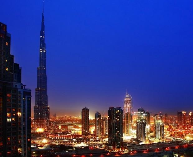 Höchsten Hotelgebäude in Dubai