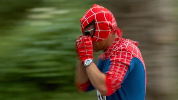 Spiderman erklimmt Burj Khalifa