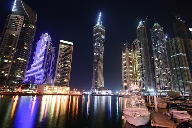 Tom Cruise in Dubai