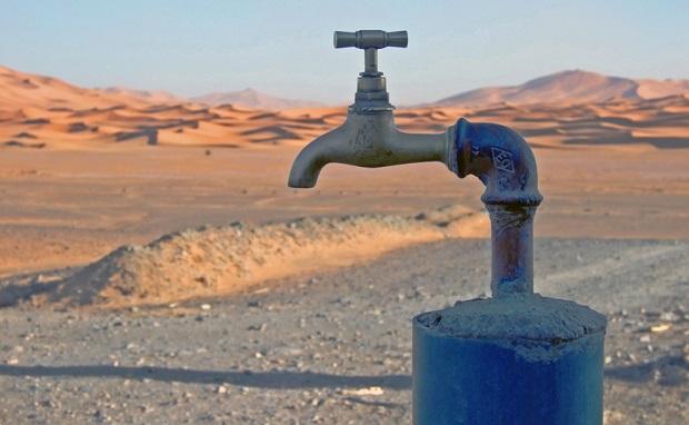 Wasserknappheit in den VAE