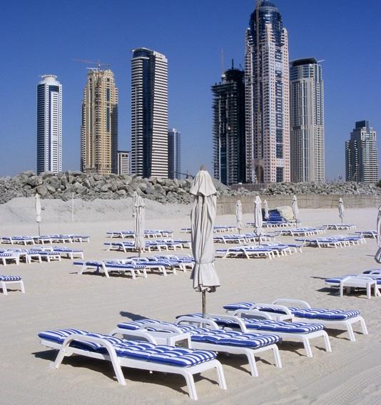 Weniger Touristen in Dubai