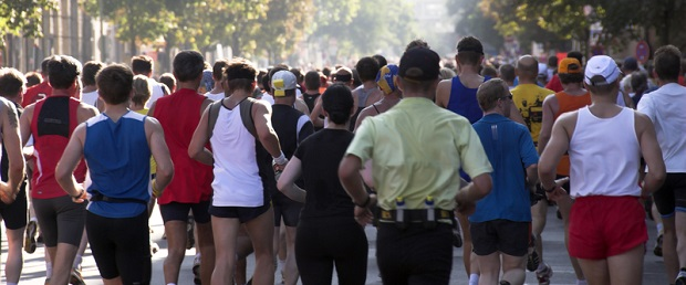 Diabetes Lauf in Abu Dhabi