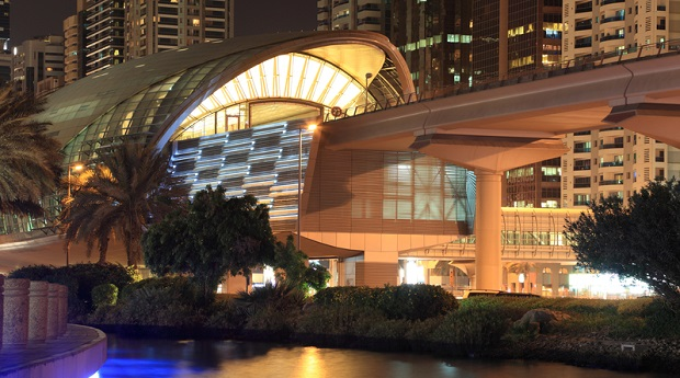 Eröffnung aller Dubai-Metro-Stationen im Februar