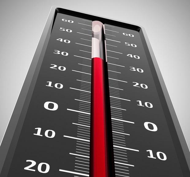 Hochsommer Temperaturen in Dubai
