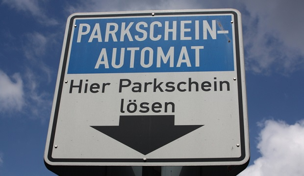 Parkgebühren in Shopping-Center