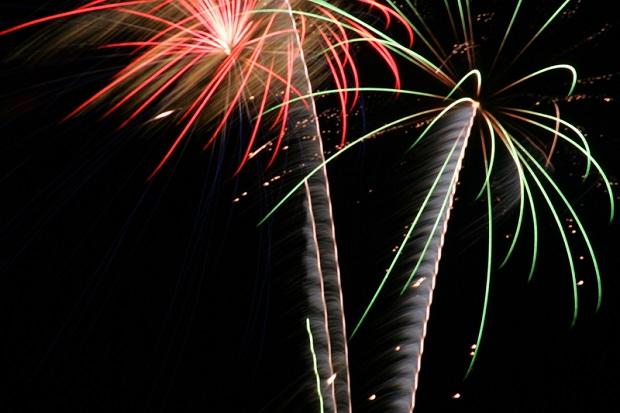 Silvester Feuerwerk in Dubai