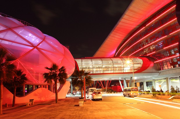 Themenpark Ferrari World in Abu Dhabi